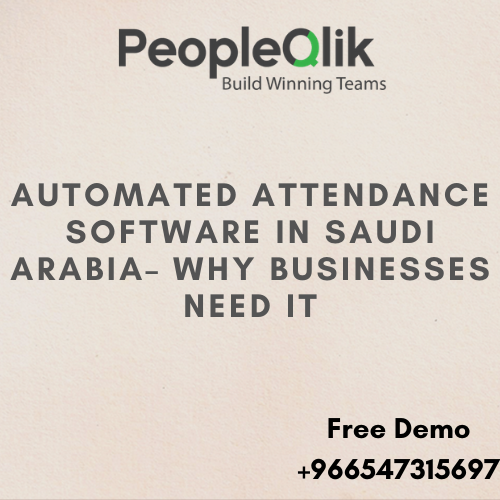 How to track employee time and attendance with Attendance Software in Saudi Arabia?